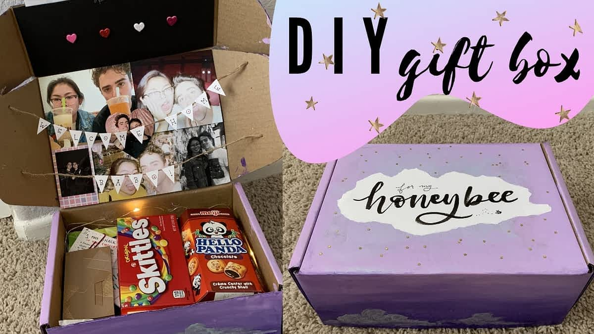 ☆DIY GIFT BOX - affordable & thoughtful gift idea☆