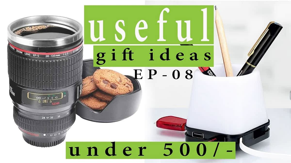 15 useful gift ideas for men under 500 rupees on amazon | How to surprise your boyfriend on birthday