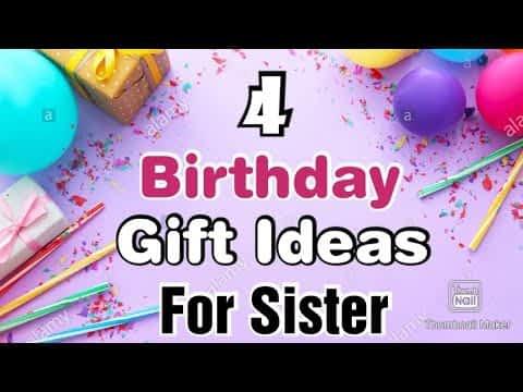 4 Beautiful Handmade Birthday Gifts For Sister   Happy Birthday Gifts   Birthday Gift Ideas 2021