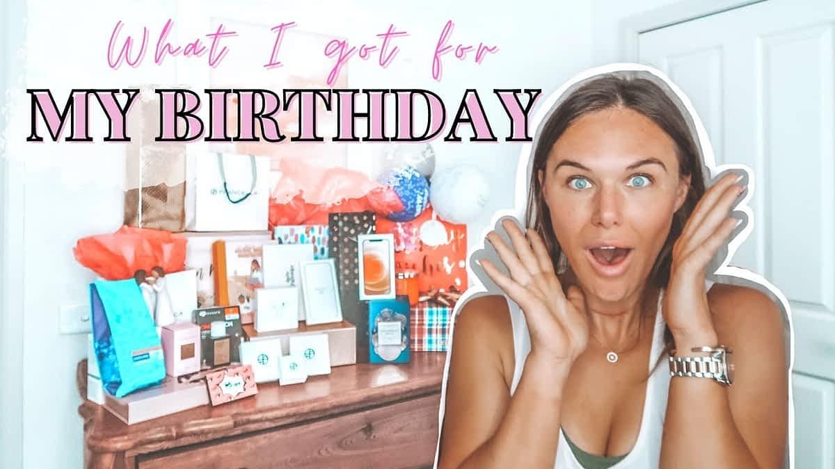 WHAT I GOT FOR MY BIRTHDAY || My 30th Birthday Presents