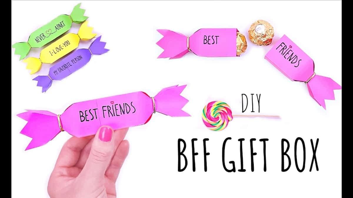 DIY BEST FRIEND GIFT BOX - Gifts For Best Friend