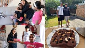 Shocking Birthday Gift To Dad 😱 | No Kid Would Have Given Such A Gift | Banana Cake Recipe