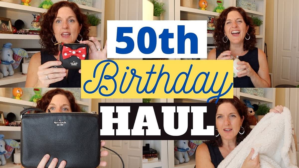 What I Got For My 50th Birthday! Huge Haul!