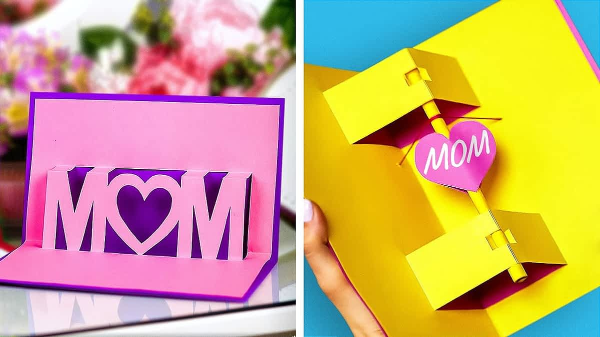 25 SWEET cards and gifts FOR LOVELY MOM for Mother's day