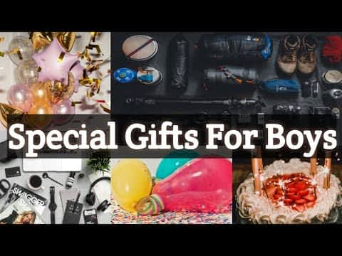 20 Best Birthday gift ideas for boys | Special Birthday gift ideas for boyfriend | Gifts for Him