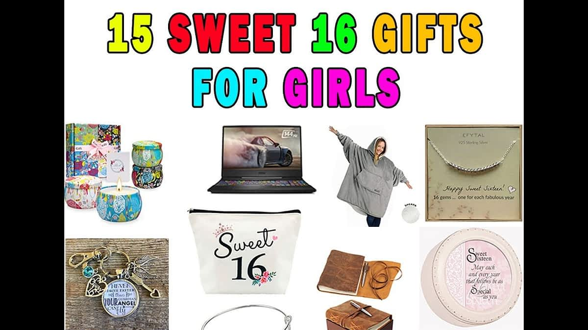 15 Awesome Sweet 16 Birthday Gifts For Her | Gift Ideas For Teen Girls Sister|Daughter|Girl Friends