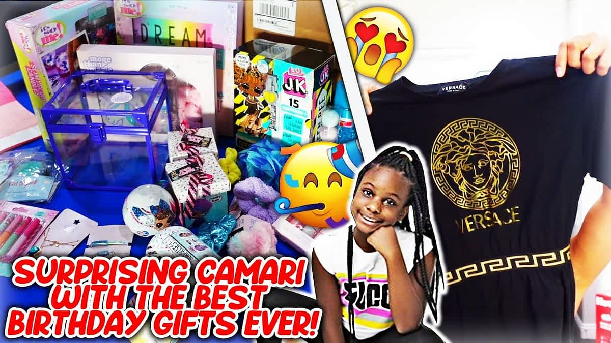 Surprising Camari With The Best Birthday Gifts Ever!
