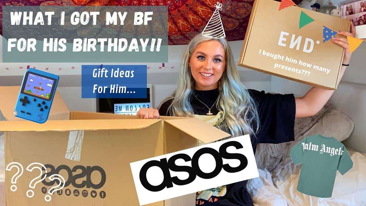 WHAT I GOT MY BF FOR HIS 21st BDAY! | 21 gift ideas for him.