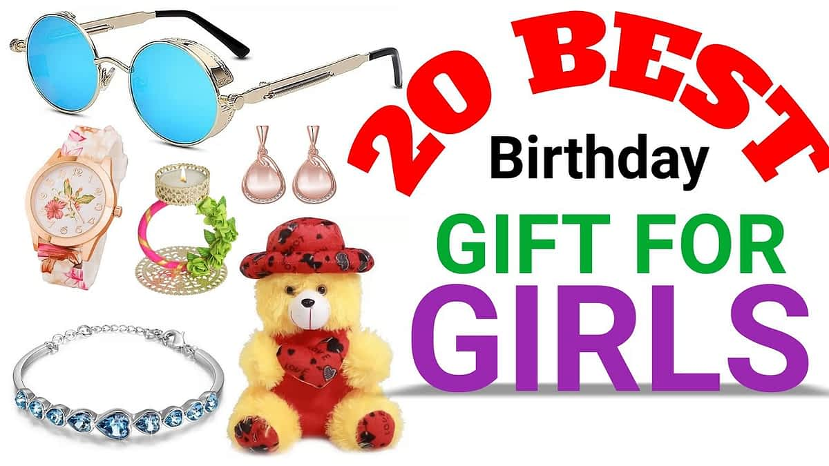 20 Best Birthday Gifts For Girls , best gift for girlfriend on her birthday,#romantic#birthday#gift